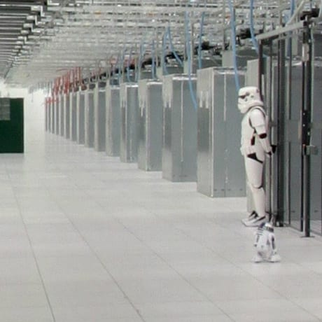 Data center trooper