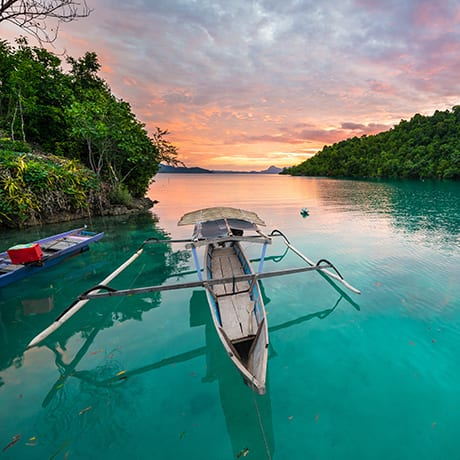 Indonesie iles Togean