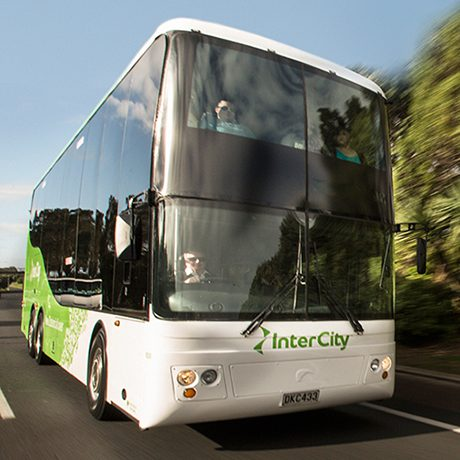 bus intercity double etage