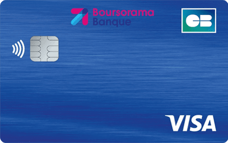 Carte Boursorama Welcome